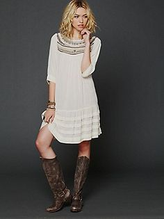 Free People Clothing Boutique > Ribbons And Rows Dress