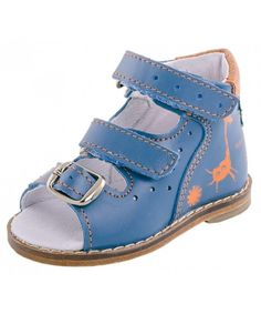 987bb73efb7e8 Baby Boy Blue Sandals 022018-27 Genuine Leather Orthopedic Sandals with  Arch Support - CF18NS6CKDO