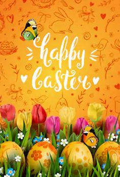 Spring Flower Easter Day Orange Backdrop for Photography – Dbackdrop Easter Backdrops, Muslin Backdrops, Custom Backdrops, Green Grass Background, Yellow Tulips, Coloring Easter Eggs, Easter Colors, Backdrop Stand, Types Of Lighting