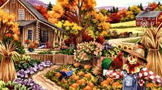 Living in the country (120 pieces)