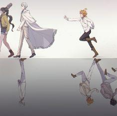 the promised neverland Manga Anime, Fanarts Anime, Anime Films, Otaku Anime, Manga Art, Anime Art, I Love Anime, Anime Guys, Hxh Characters