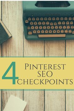 4 SEO checkpoints for Pinterest! Where does SEO matter on Pinterest? How to get your pins and boards found! www.bluefairystudios.co