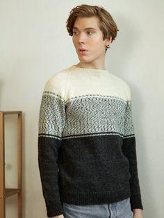 Men's raglan sweater Novita Nalle ja Nalle Pelto Sweater Outfits, Men Sweater, Red Plum, Urban Looks, Crochet Books, Knitting Needles, Mustard Yellow, Off White, Pullover