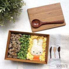 Miffy Bento by Tian Min (@5ambento)