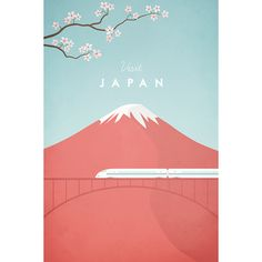 Japan by Henry Rivers - Travel Poster Co. - The Cool Republic
