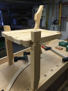 Sam Maloof Inspired Low Back Chair - Warning lots of Pics : Projects, workshop tours and past mistakes