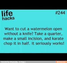 This sounds cool Weird Facts, Fun Facts, Cut Watermelon, Food Hacks, Food Tips, Useful Life Hacks, Lifehacks, Life Goals, Good To Know