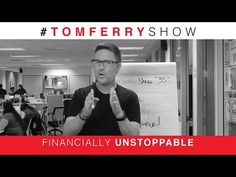 3 Tips for Real Estate Agents to Stop Living Paycheck to Paycheck | #TomFerryShow Episode 35 - YouTube