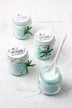 1000 images about regali fai da te on pinterest fai da te natale and mason jar christmas - Sali bagno fai da te ...