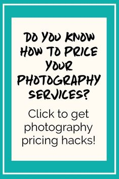 Are you a professional photographer? If youve been struggling to price your phot Photography Pricing, Photography Services, Photography Business, Interior Photography, Photography Ideas, Creative Business, Business Tips, Online Business, Knowing Your Worth
