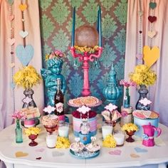 A bright, bold and beautiful dessert buffet featuring the ever-versatile pizzelle.