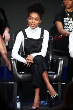 Yara Shahidi Photos Photos: 2019 Winter TCA Tour - Day 8 - Source by charityidowua - Black Girl Fashion, Star Fashion, Fashion Outfits, Grown Ish, Christian Louboutin So Kate, Celebs, Celebrities, Swagg, Role Models