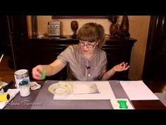 Видео МК «Вживление распечатки»   Декупаж от Анны Турчиной