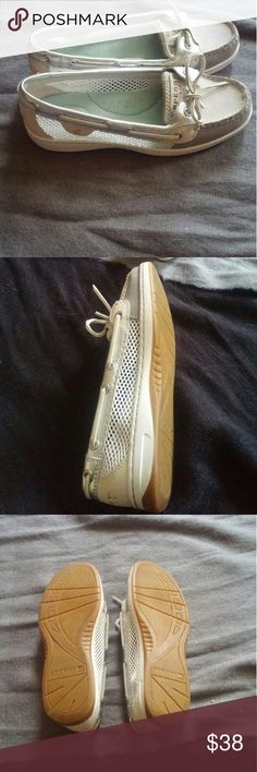 LOWEST PRICE! NWOT Rare silver Sperry s Beautiful nwot Sperry s Sperry Top-Sider Shoes