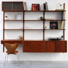Located using retrostart.com > Royal System Wall Unit by Poul Cadovius for Royal System