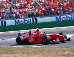 #F1 #Ferrari F399 Mika #Salo Germany 1999