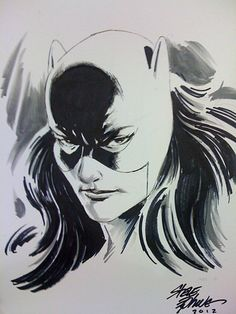 Catwoman by Steve Epting