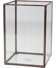 Magasin Living Hurricane i glas 16x16x23 cm.