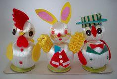 Vintage Easter critters by oodlesandoodles, via Flickr
