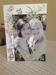 Cute thank you card for a friend