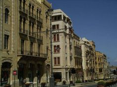 Houses and shops in Beirut