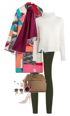 """NYC"" by juliakassia ❤ liked on Polyvore featuring MM6 Maison Margiela, Roksanda, Lana, Proenza Schouler, Marc Jacobs, Fendi, Kate Spade, Yves Saint Laurent, Burberry and Christian Louboutin"