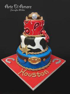Cowboy Cake by ArteDiAmore.deviantart.com on @deviantART