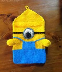 Minion DIY iPad Case - You spend a good portion of your time on your tablet, so why not upgrade it to an actual minion with this Minion DIY iPad Case? This free knitting pattern is easily one of the cutest tech accessories out there. Everyone will be asking where you bought it and you'll love being able to say you made it yourself. This is also the perfect homemade gift for anyone who loves Despicable Me. Even your teenagers will love getting this adorable Despicable Me minion craft from…