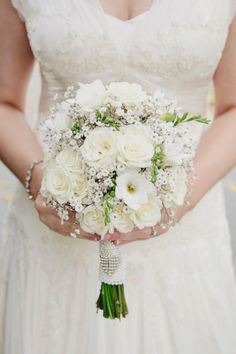 Rose freesia and baby's breath