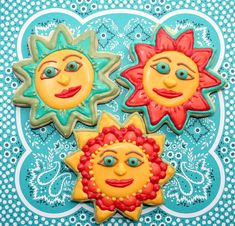 mexican sun cookies