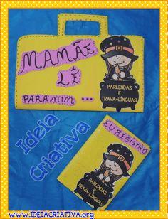 Projeto Mamãe Lê Para Mim Parlendas e Trava Línguas