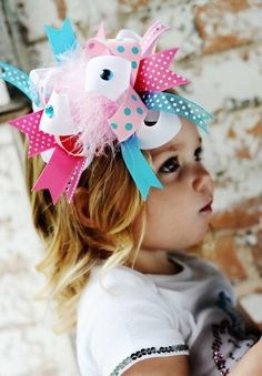 Now that's what I call a hairbow
