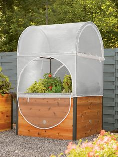 4' x 4' Elevated Grow Shelter