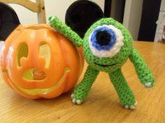 Amigurumi Monsters Inc : Disney monsters inc inspired baby mike and sulley amigurumi plush