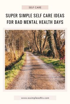 19 EASY SELF CARE IDEAS FOR DAYS WHEN DEPRESSION REARS ITS UGLY HEAD Health Anxiety, Anxiety Tips, Anxiety Help, Social Anxiety, Stress And Anxiety, Mental Health Resources, Mental Health Day, Mental Health Quotes, Look After Yourself