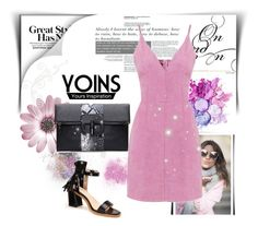 """Yoins 3"" by fashion-addict35 ❤ liked on Polyvore featuring women's clothing, women, female, woman, misses, juniors and yoins"