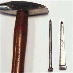 [Ganoksin] Tips For Transforming Nails Into Riveting Tools