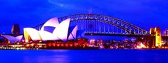 Sydney, Australia.   Sydney's gay-welcoming vibe has been attracting the LGBT community for years.  http://www.blisshoneymoons.com/services/honeymoons/