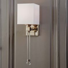 Chic Sophisticate Crystal Torch Wall Sconce  Torches Wall Endearing Wall Sconces Bathroom Inspiration
