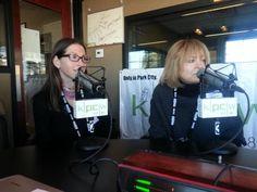 Hilla Medalia and Shosh Shlam, directors of 'Web Junkie'. #sundance | KPCW Radio