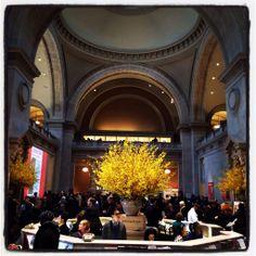Hoy en el MET no cabía un alfiler #arte #museo #nyc #marialeonstyle