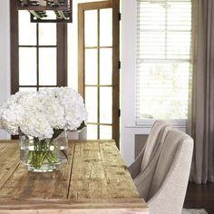 Light Warm Table Dining Decor Centerpiece Dinning Room Area