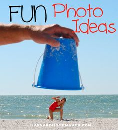 SO many great photo ideas for holiday cards, vacation photos, etc.