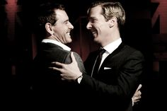 Michael Fassbender Benedict Cumberbatch