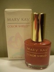 Mary Kay Color Shield Metropolitan Mauve Nail Polish Enamel