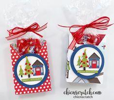 Christmas Craft Fair, Christmas Treats, Stampin Up Christmas, Christmas Cards, Crafty Projects, 3d Projects, Treat Holder, Winter Cards, Craft Fairs