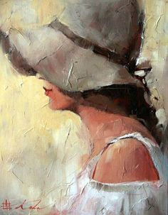 Painting by Andre Kohn words by Janet Is it any wonder that so many artists paint women? even a hint of a woman is beautiful..