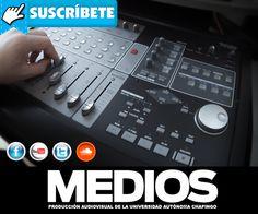 #MediosChapingo Suscríbete