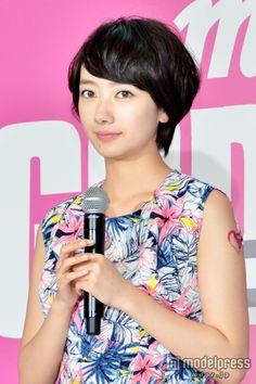 映画「GODZILLA ゴジラ」公開に先駆けてトークイベントに出席した波瑠