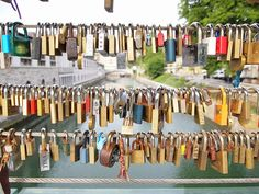 Love Locks Around The World  http://www.mvtop10.com/2014/11/top-10-love-locks-locations-from-around.html